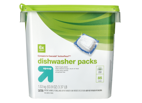Up & Up (Target) Dishwasher Packs
