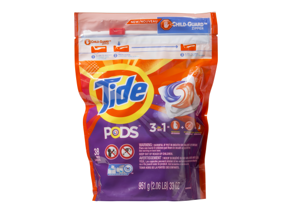 Tide Pods 3-in-1 laundry detergent