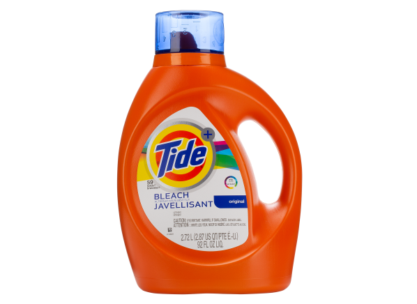Tide Plus Bleach Alternative laundry detergent