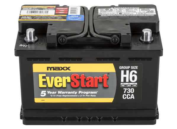 EverStart MAXX-H6 car battery - Consumer Reports