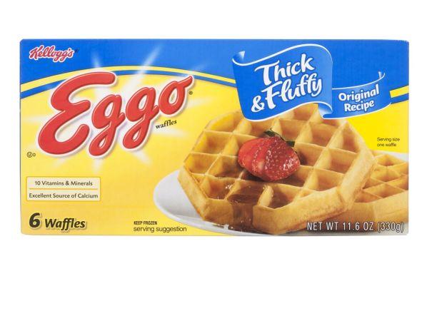 Eggo Thick & Fluffy Original Recipe frozen waffle