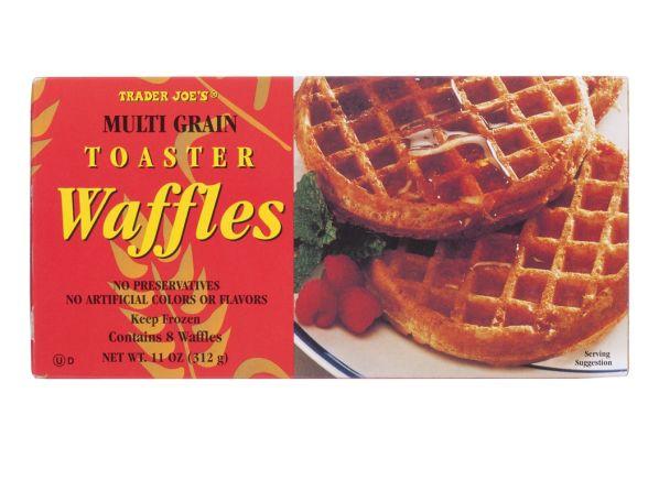 Trader Joe's Multigrain frozen waffle