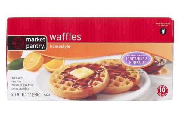 Market Pantry Homestyle (Target) frozen waffle