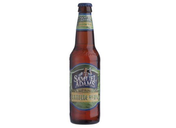 Samuel Adams Hopology Collection Latitude 48 IPA beer