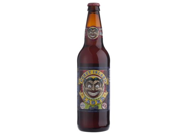 Coney Island Lager beer