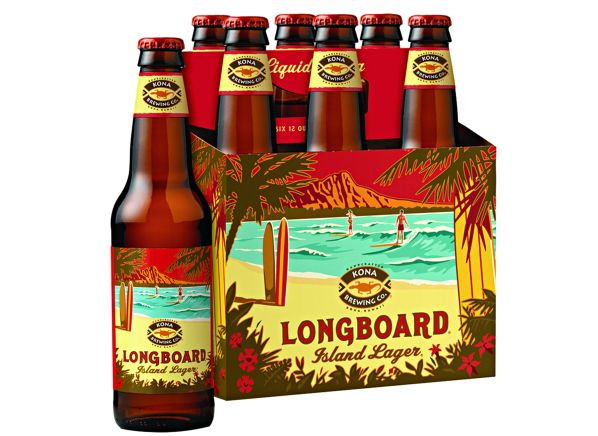 Kona Brewing Co. Longboard Island Lager beer