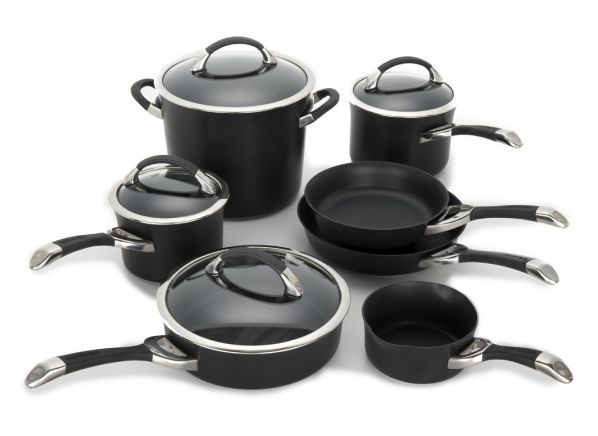 Circulon Symmetry Hard Anodized Nonstick Kitchen Cookware This 11 Piece Set