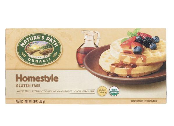 Nature's Path Organic Organic Homestyle Gluten Free frozen waffle