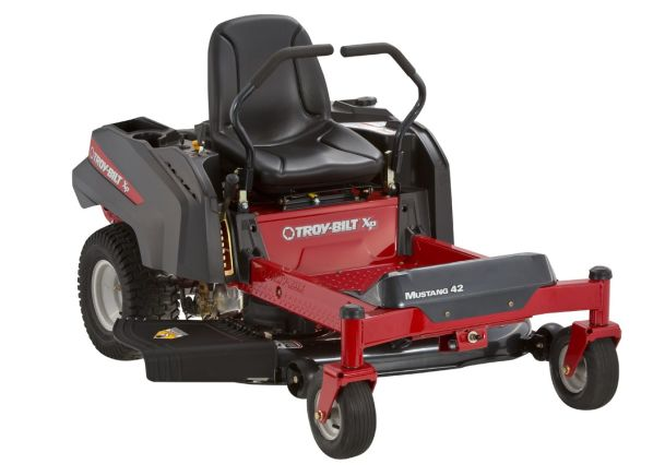Troy Bilt Mustang 42 Riding Lawn Mower Tractor Summary Information