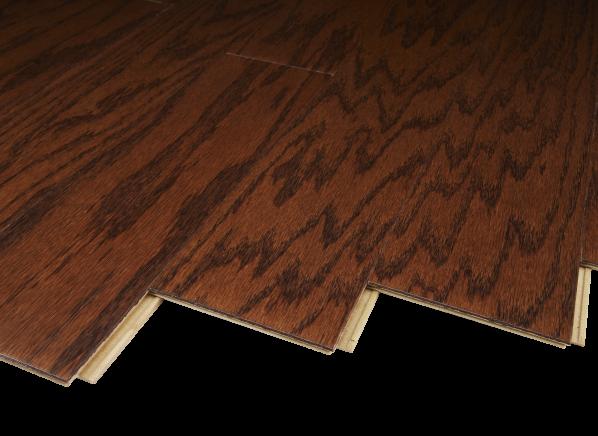 Harris Wood Traditions SpringLoc Red Oak Bridle HE2505OK48 flooring