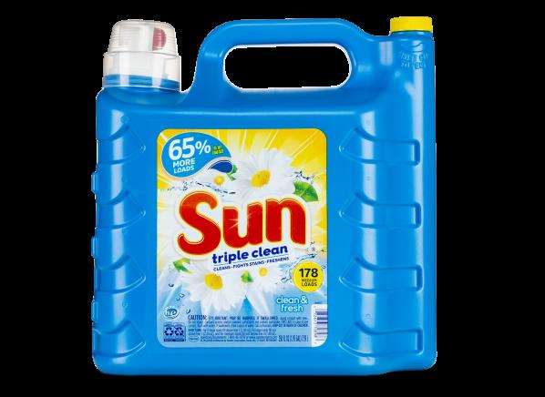 Sun Triple Clean laundry detergent