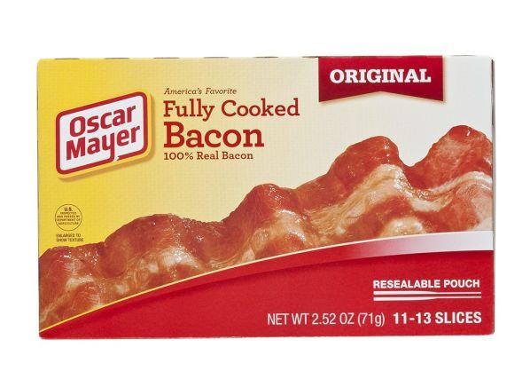Oscar Mayer Fully Cooked Original bacon