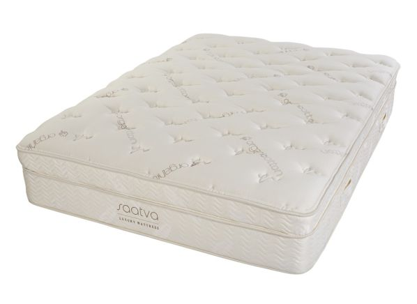Saatva Luxury Firm Euro Pillowtop Mattress