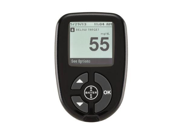 Bayer Contour Next blood glucose meter