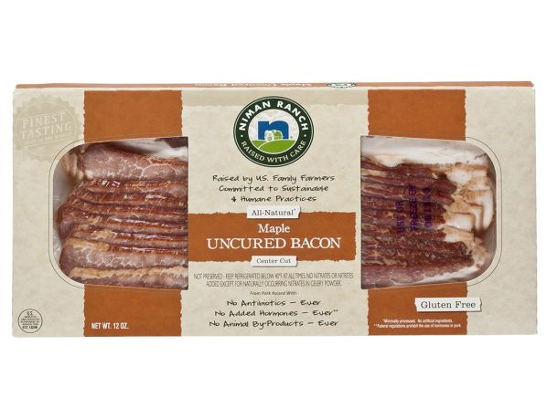 Niman Ranch Maple Uncured Bacon