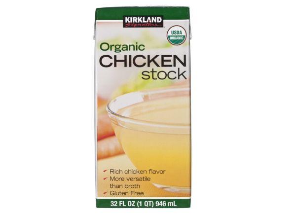 Kirkland Signature (Costco) Organic Chicken Stock broth