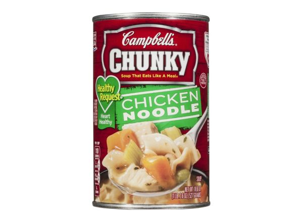 Campbells Chunky Healthy Request Chicken Noodle Soup Summary