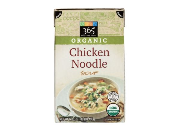 365 Everyday Value Organic Chicken Noodle Whole Foods Soup Summary