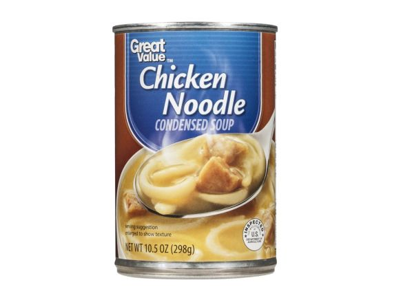 Great Value Chicken Noodle (Walmart) soup