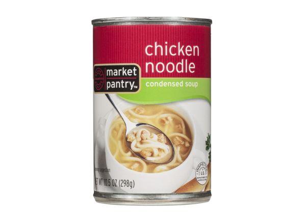 Market Pantry Chicken Noodle (Target) soup