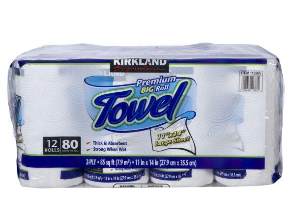 Kirkland Signature Costco Premium Big Roll Paper Towel Summary