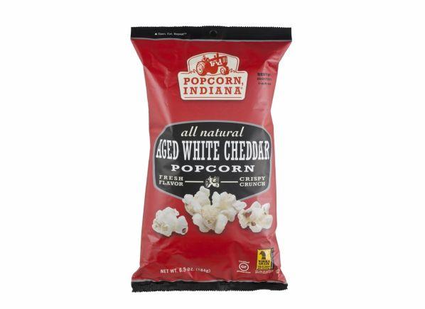 Popcorn Indiana Aged White Cheddar popcorn