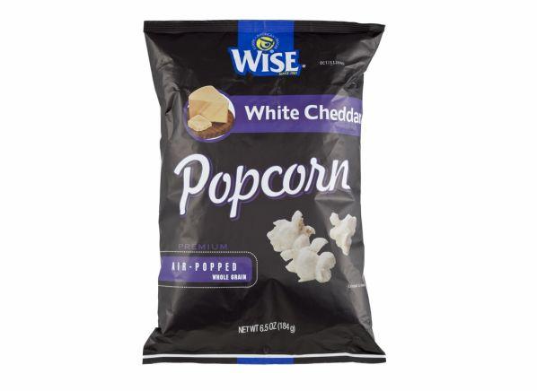 Wise White Cheddar popcorn