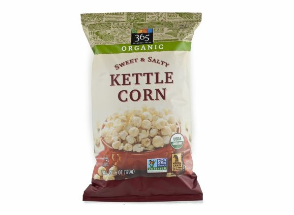 365 Everyday Value Organic Sweet & Salty Kettle Corn (Whole Foods) popcorn