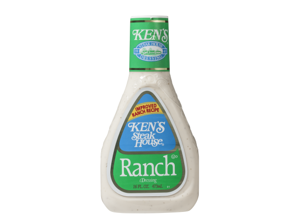 Ken's Ranch salad dressing