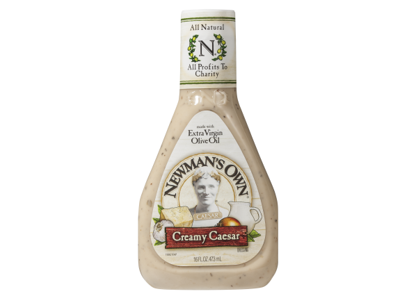 Newman's Own Creamy salad dressing