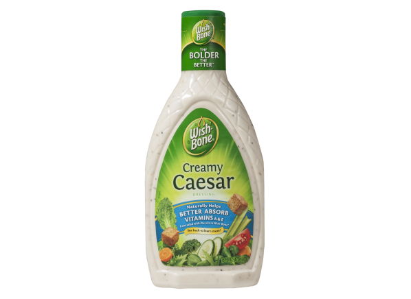Wish-Bone Creamy salad dressing