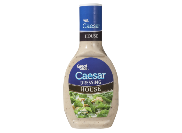 Great Value House Caesar (Walmart) salad dressing