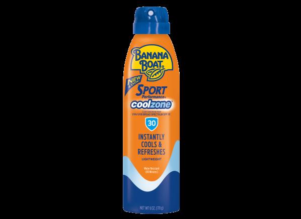 Banana Boat Sport Performance CoolZone Spray SPF 30 sunscreen