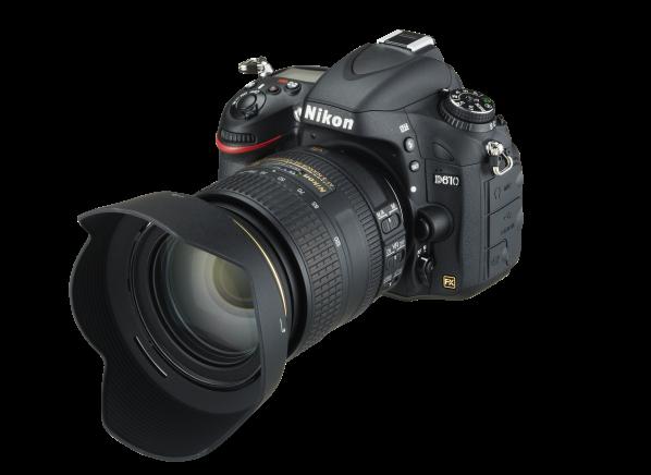 Nikon D 610 w/ AF-S 24-85mm f/3.5-4.5G ED VR camera