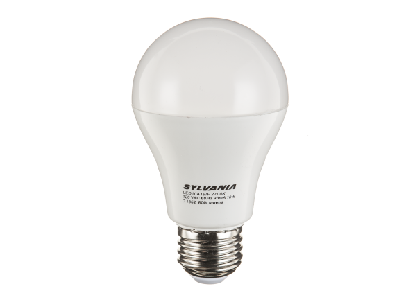 Sylvania LED10W A19 Warm white lightbulb