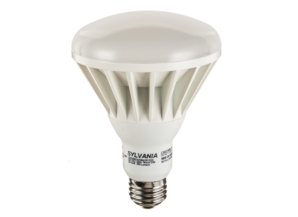 Sylvania 12-Watt (65W) BR30 Soft White Dimmable LED lightbulb