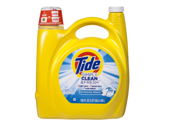 Tide Simply Clean Fresh Laundry Detergent