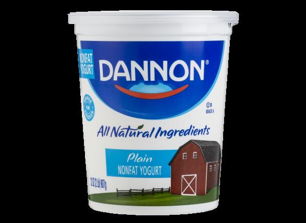 Dannon Plain Nonfat Yogurt