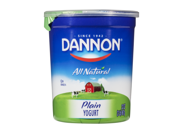 Dannon Plain Whole Milk Yogurt