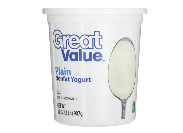 Great Value (Walmart) Plain Nonfat Yogurt - Consumer Reports