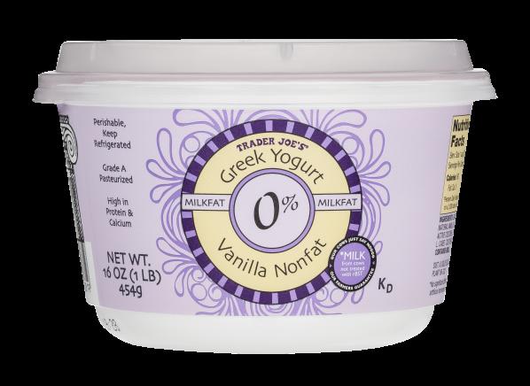 Is trader joe's greek yogurt gluten free