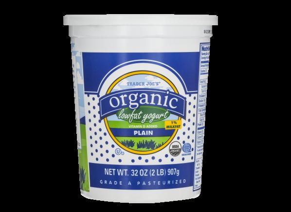 Trader Joe's Organic Plain Lowfat Yogurt