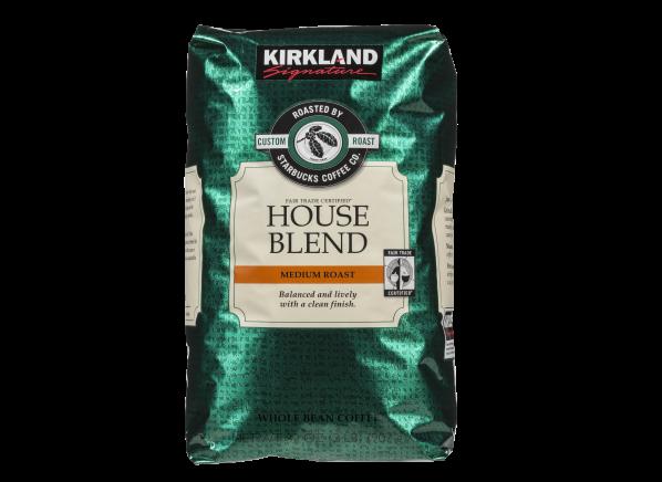 Kirkland Signature Costco House Blend Roasted By Starbucks Coffee