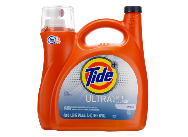 Tide Plus Ultra Stain Release laundry detergent