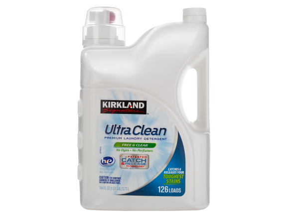 Kirkland Signature (Costco) Ultra Clean Free & Clear laundry detergent