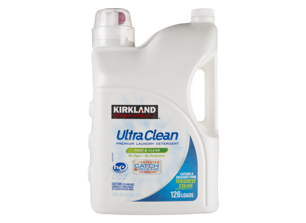 Kirkland Signature (Costco) Ultra Clean Free & Clear laundry