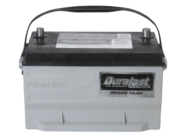 Duralast Platinum 65-AGM car battery
