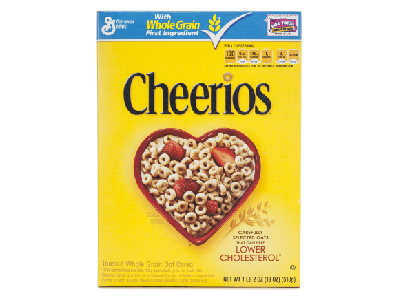 Cheerios Toasted Whole Grain Oat cereal