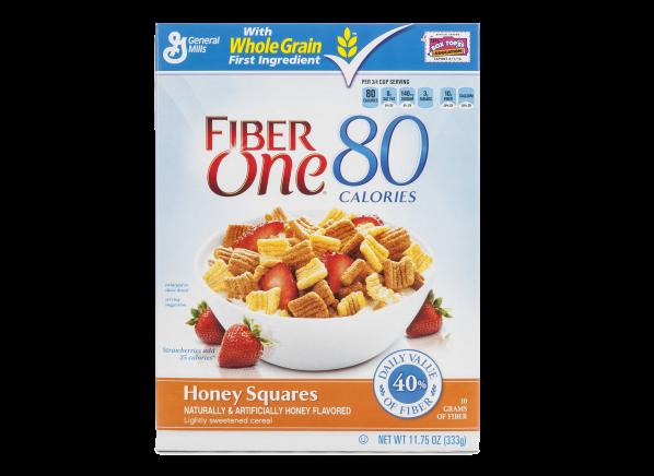 Fiber One Honey Squares cereal