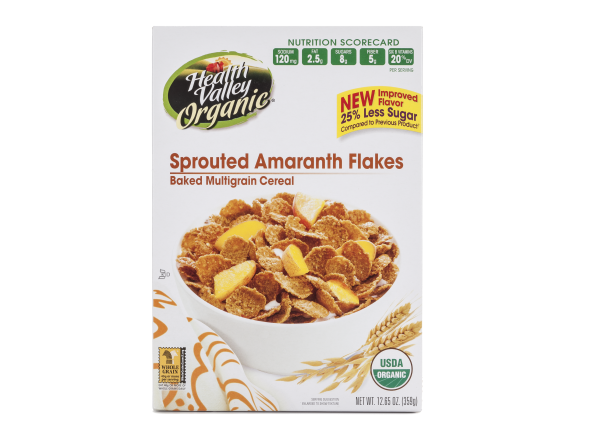 Health Valley Organic Sprouted Amaranth Flakes cereal